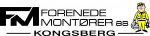 Forenede Montorer logo med lav mann farve